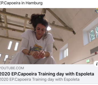 EP.Capoeira in Hamburg Training day with Espoleta