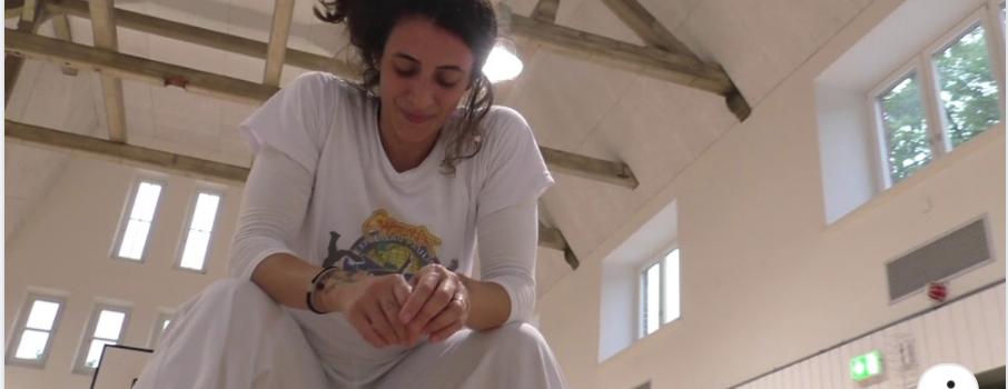 EP.Capoeira in Hamburg Training day with Espoleta
