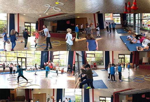 Capoeira Körper und Bewegungen